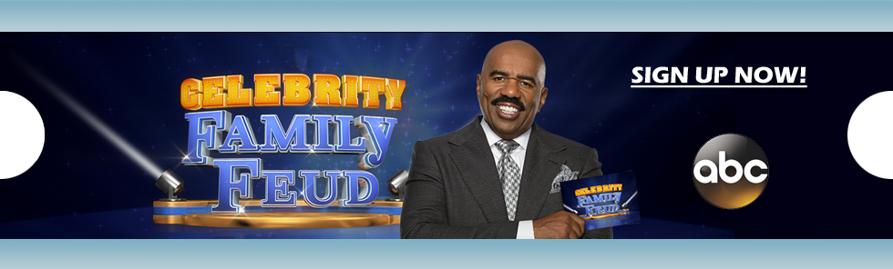 Link to http://on-camera-audiences.com/shows/Celebrity_Family_Feud