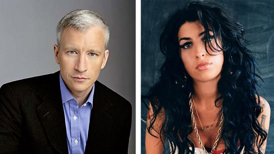 Anderson Cooper's Amy Winehouse Tribute
