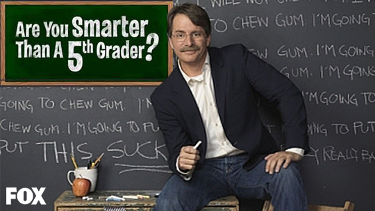 Are You Smarter Than A 5th Grader with jeff fox