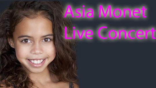 Asia Monet Live Concert