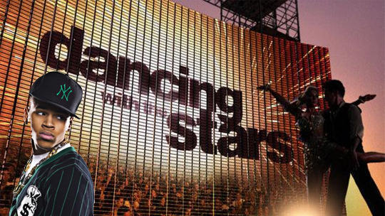 Chris Brown and Dancing with the Stars
