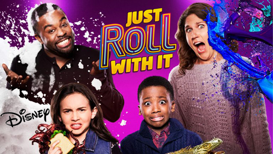 FREE TV Audience Tickets - Disney's Just Roll With It