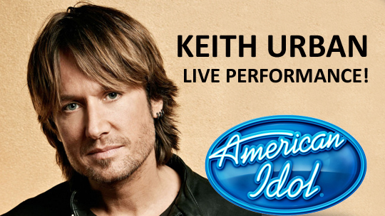 Keith Urban performance