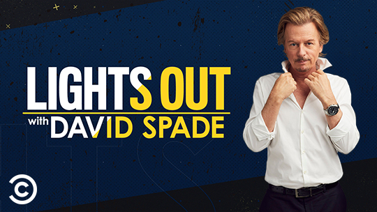 FREE TV Audience Tickets - Lights Out with David Spade