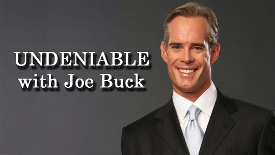 Michael Phelps on Undeniable with Joe Buck