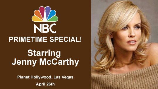 NBC Special with Jenny McCarthy