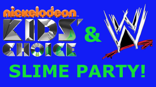 Nickelodeon Kid's Choice WWE Slime Event